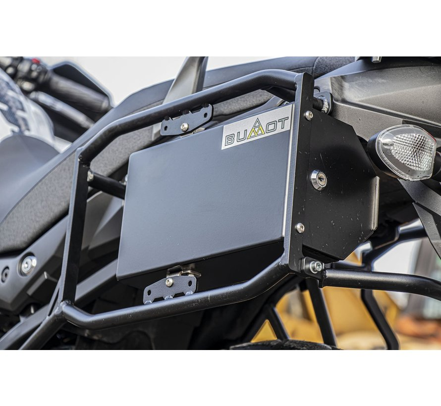 BUMOT Defender EVO panniersystem for the Suzuki DL 650 2017+