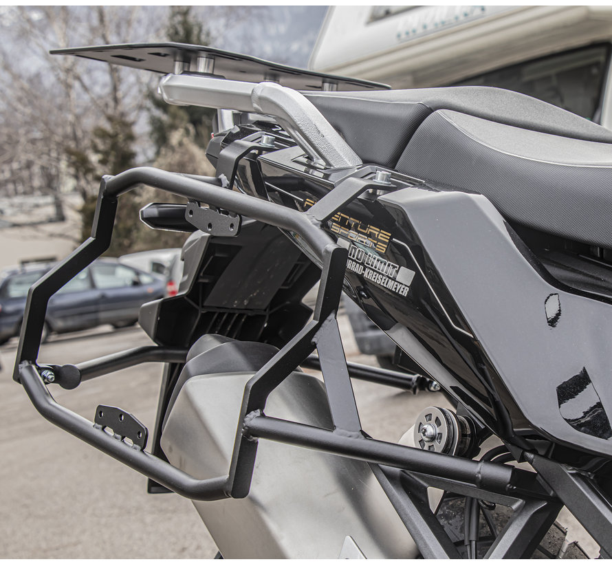 BUMOT Defender EVO zijkoffersysteem voor de Honda CRF1100L / Adventure Sports