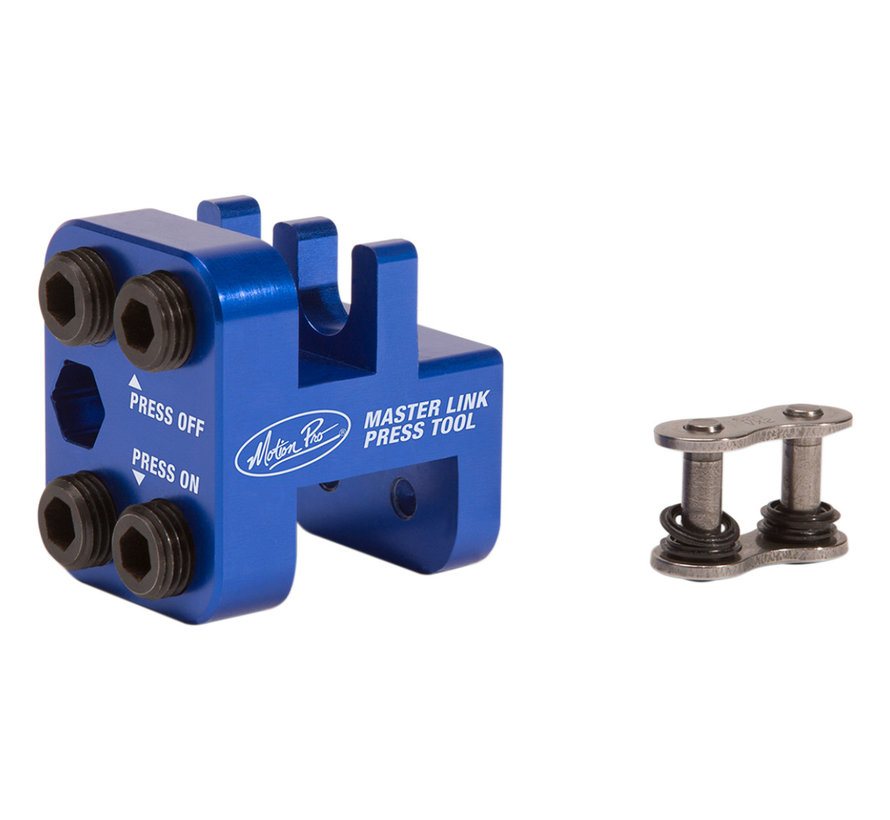 Motion Pro Master Link pers tool - voor 'Clip' type masterlink