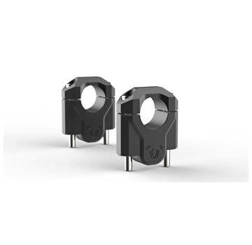 SW-Motech SW-Motech Handle bar riser 40mm - To fit models with 32mm handlebar- Black