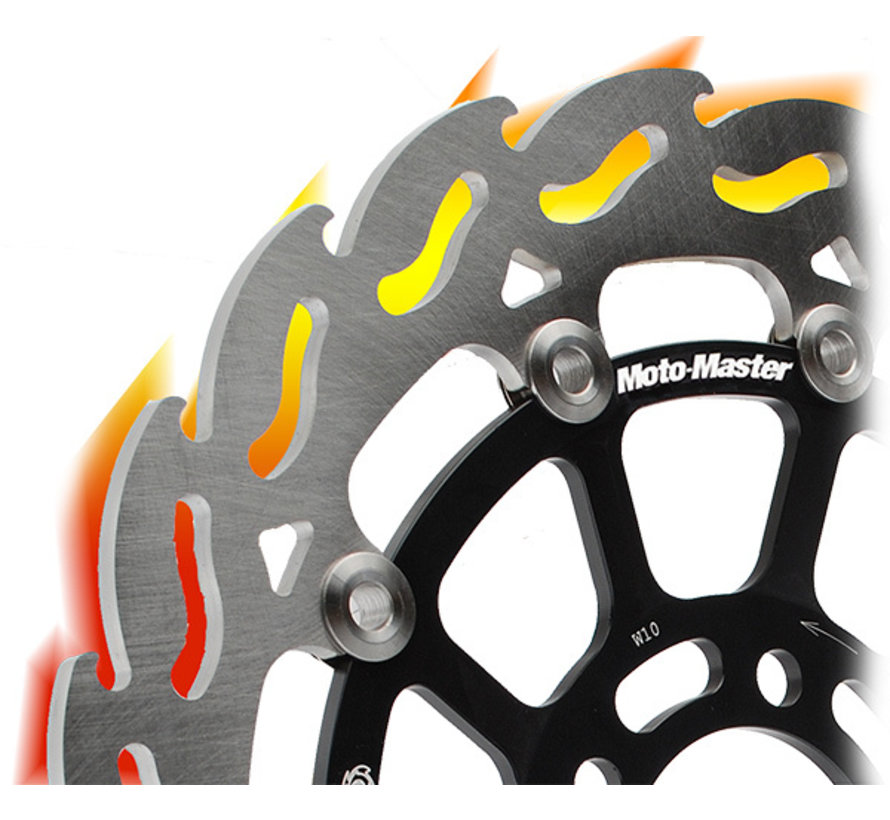 Moto-Master Remschijf Flame - Links - DL650 (ABS) 2006 - / DL1000 2014 -