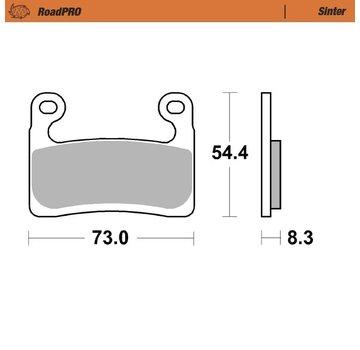 Moto-Master Moto-Master Brake pads RoadPRO - Sinter - Front - R 1250 GS / ADVENTURE