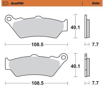 Moto-Master Moto-Master Brake pads RoadPRO - Sinter - Rear - R 1200 GS (A) LC / R 1250 GS (A)