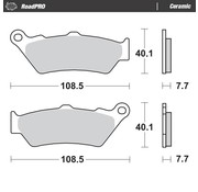 Moto-Master Moto-Master Remblokken RoadPRO - Ceramic