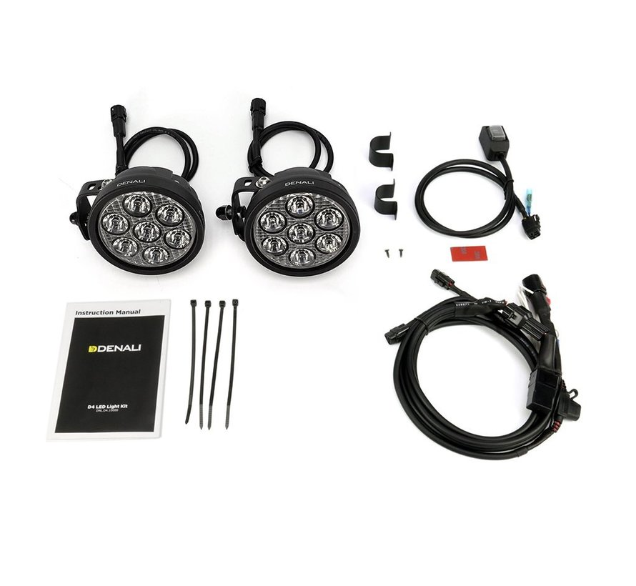 DENALI D7 LED Additional Lighting 10W - By Pair