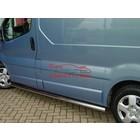 Renault Renault Trafic|Opel Sidebars Rechte Buis Zonder traanplaat (set van 2 stuks)