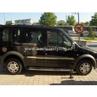 Ford Transit Connect Dakrails aluminium chroom