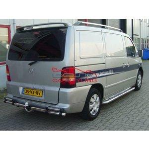 Mercedes-Benz Vito W638 (tot 2003) Dakrails Aluminium
