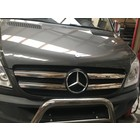 Mercedes-Benz Chrome grille lijsten voorgrill MB Sprinter 906 RVS 4 delig 2006-2012