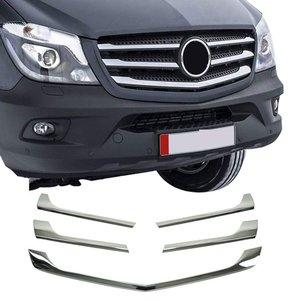 Mercedes-Benz Chrome grille lijsten voorgrill MB Sprinter W906 FL 5 delig