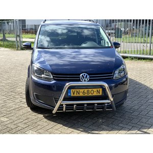 VW Caddy Pushbar met carterbeschermer