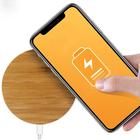 Fantasy Bamboo Qi Draadloze Oplader - Wireless Charger - Telefoon Draadloos Opladen -  Geschikt voor Samsung S6/S7/S8/S9/S10 Apple iPhone Pro/11/X/XS/XR/8 - Bamboe
