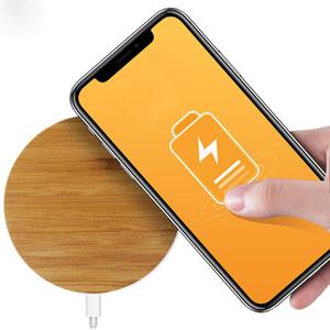 Fantasy Qi Draadloze Oplader - Wireless Charger - Telefoon Draadloos Opladen -  Geschikt voor Samsung S6/S7/S8/S9/S10 Apple iPhone Pro/11/X/XS/XR/8 - Bamboe