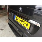 Mercedes-Benz MB Vito W639 Chrome Kofferbakstrip RVS Achterklep Achterdeur
