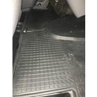 VW 4D Rubberen Vloermat Volkswagen T5 3 delig