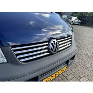 VW T5 Chrome voorgrillset RVS