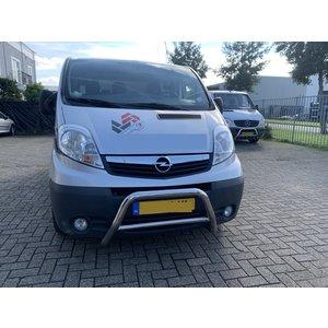 Renault Opel Vivaro/Renault Trafic/Nissan Primastar Pushbar Bullbar zonder carter