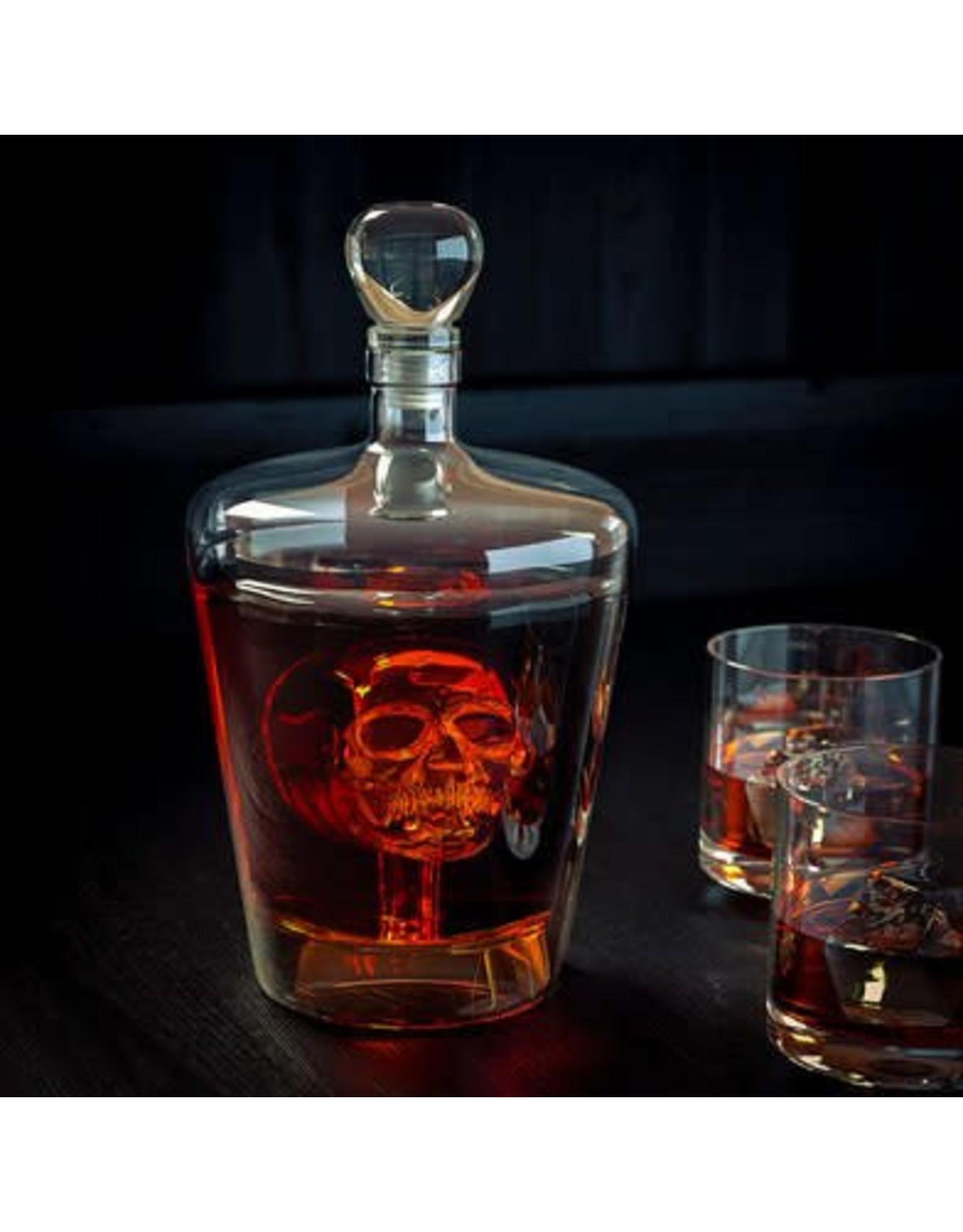 Balvi decanter with skull