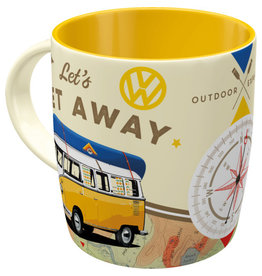 Nostalgic Art mug - let's get away