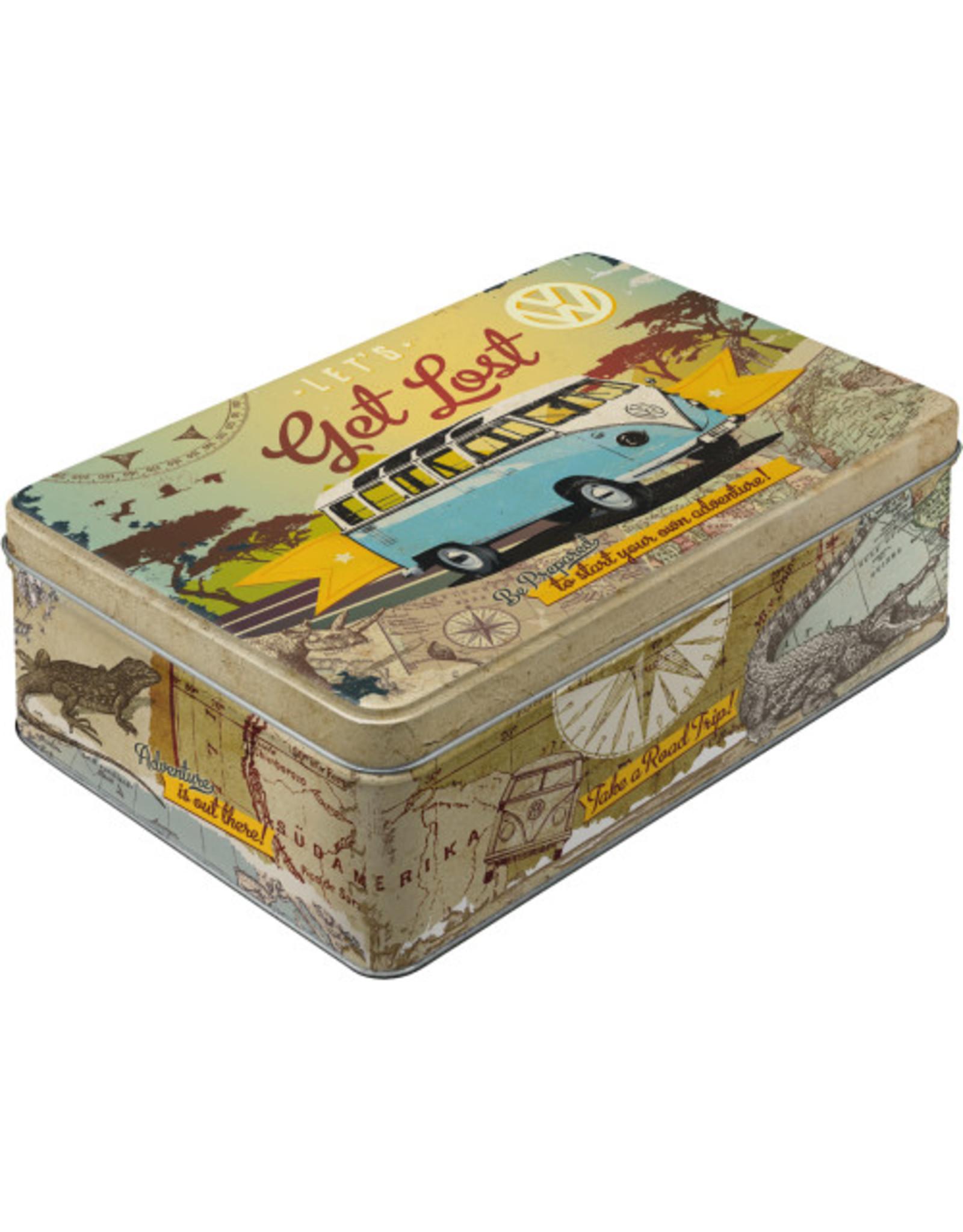 flat tin box - let's get lost VW