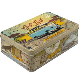 Nostalgic Art tin box - flat - let's get lost VW (4)