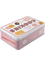 Nostalgic Art tin box - flat - cookies