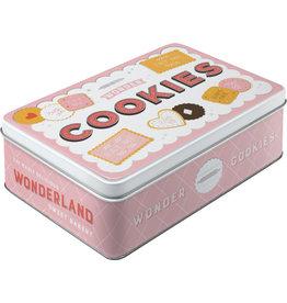 Nostalgic Art blikken doos plat - cookies