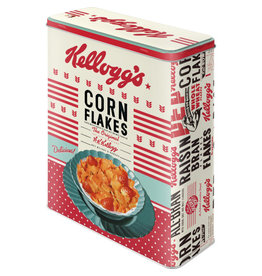blikken doos XL - cornflakes