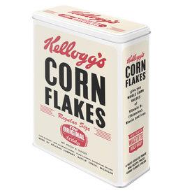 Nostalgic Art tin box - XL - cornflakes (white)