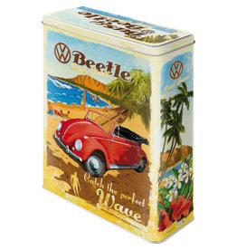 Nostalgic Art blikken doos XL - VW BUS beach