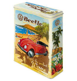 Nostalgic Art tin box - XL - VW beach