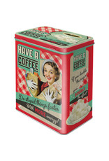 tin box - M - have a coffee