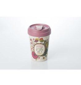 Chic Mic travel mug - coffee happiness