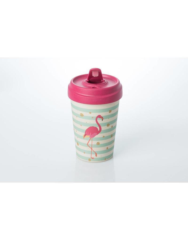 Chic Mic reisbeker - flamingo