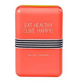 Happy Jackson brooddoos - eat healthy live happy
