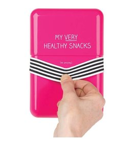 Happy Jackson lunchbox - my very healthy snacks