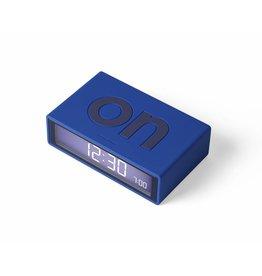 Lexon alarm clock - flip (blue)