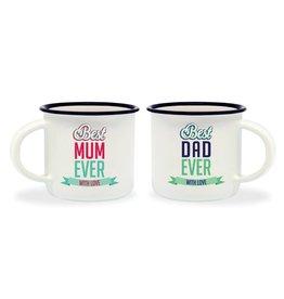 Legami espresso mokken - best mum / best dad