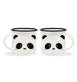 Legami espresso mugs - panda