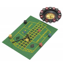 drankspel - roulette met speelmatje