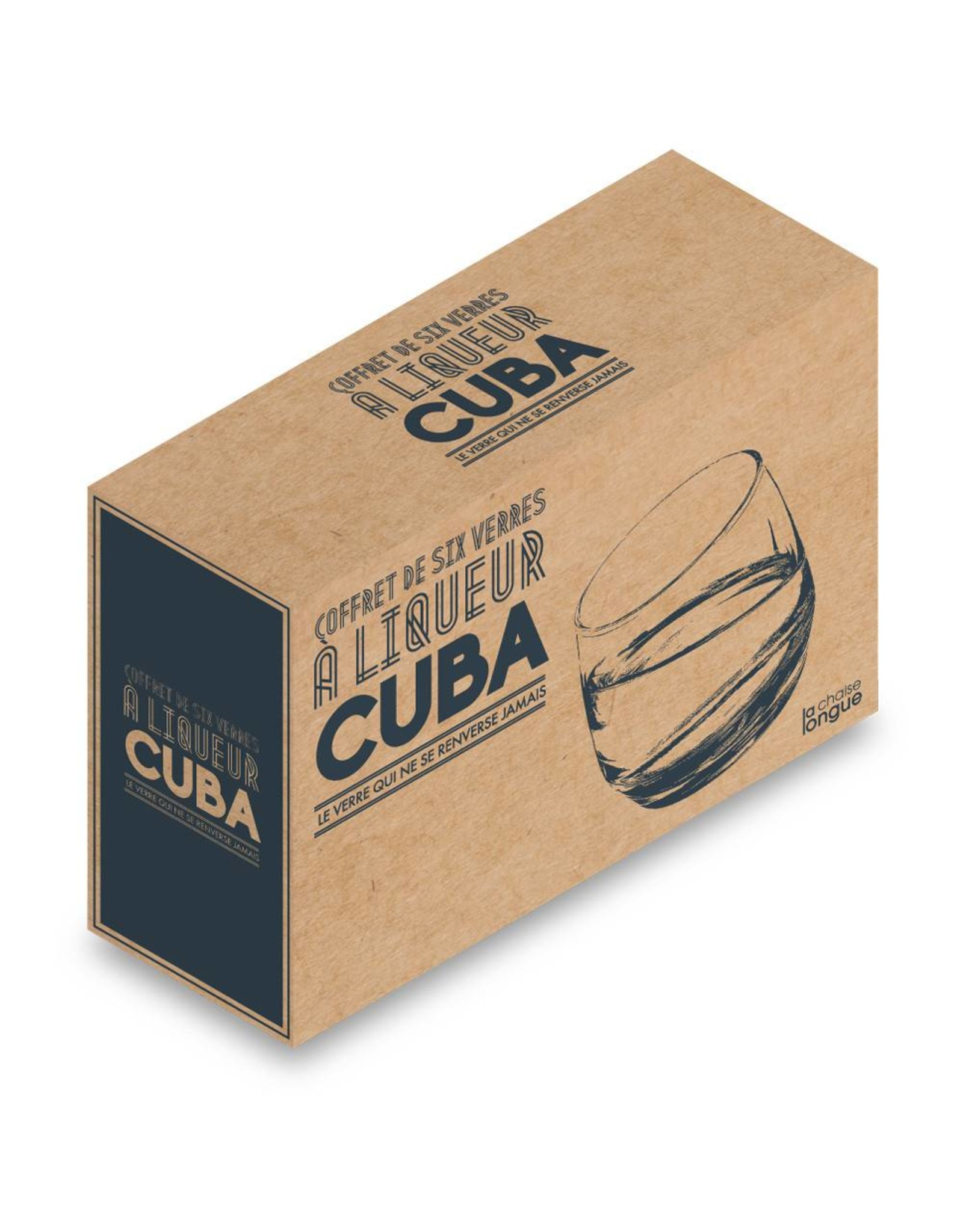 Le Studio whiskey glass - cuba
