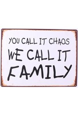 La Finesse sign - you call it chaos. We call it family