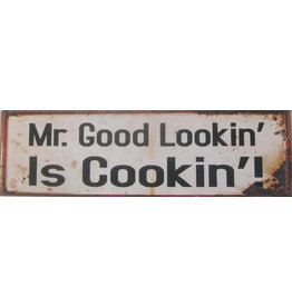 La Finesse sign - mr good lookin is cookin