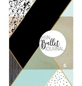 bullet journal - mint & gold