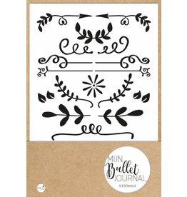 bullet journal - stencils