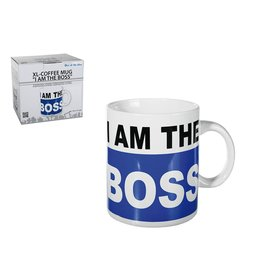Out Of The Blue mug XL - I'm the boss