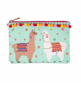 Sass & Belle pouch - llama
