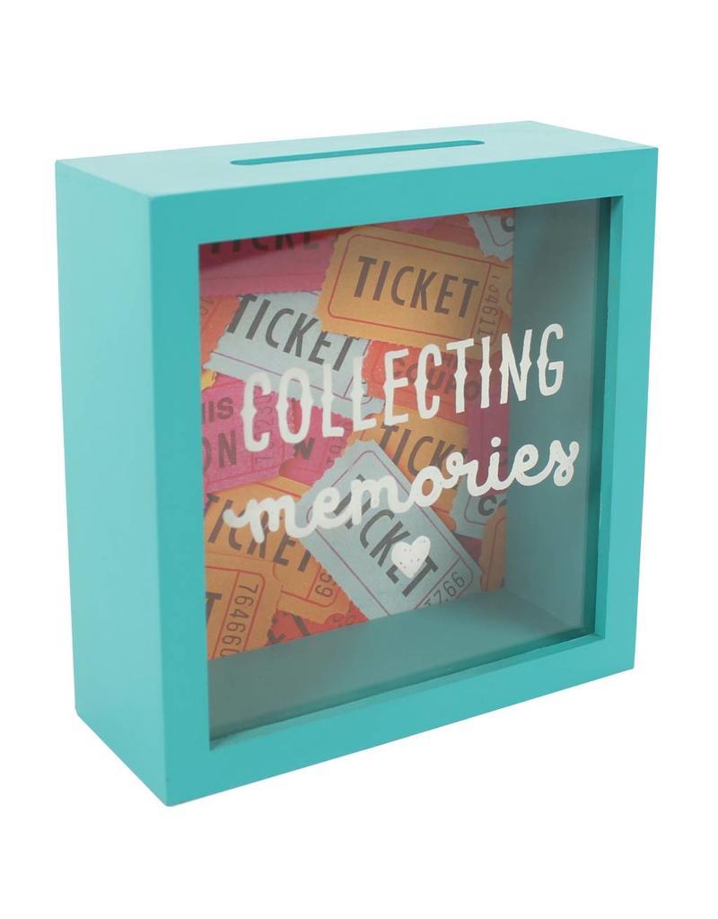 Jones Home & Gift moneybox - collecting memories fund