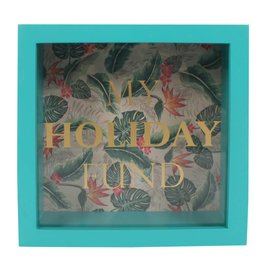 Jones Home & Gift moneybox - my holiday fund