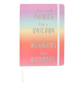Jones Home & Gift notebook A5 - rainbow